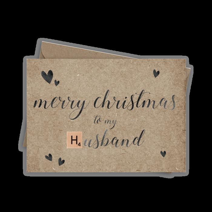 Catherine Loves | Merry Christmas Husband
