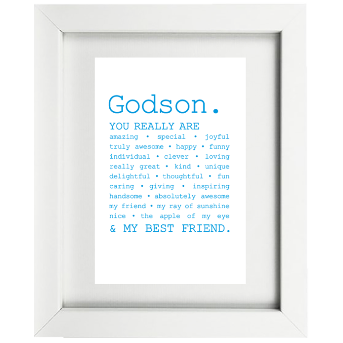 Catherine Loves | Godson Frame