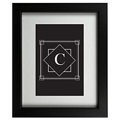 Art Deco C Frame