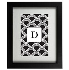 Art Deco D Frame