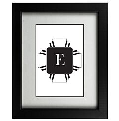 Art Deco E Frame