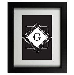 Art Deco G Frame