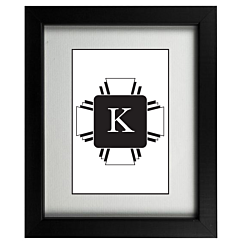 Art Deco K Frame
