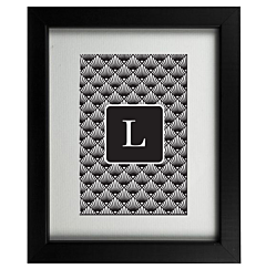 Art Deco L Frame
