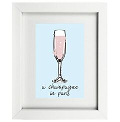 Champagne In Paris Frame