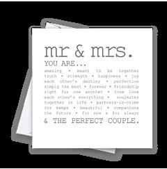 True Mr & Mrs