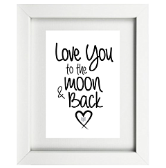 Moon and Back Valentine's Day Collection