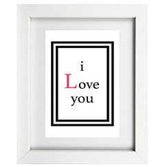 I love you Valentine's Day Collection