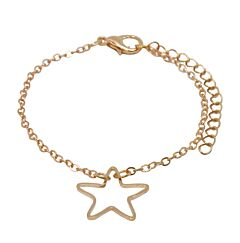 DELICATE STAR GOLD PLATED BRACELET