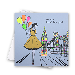 Pop - Girl with Balloons