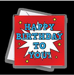 Pop Birthday To You
