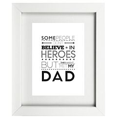 Typographic Dad Frame