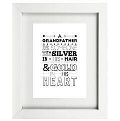 Typographic GrandFather Frame