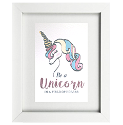 Be A Unicorn Frame